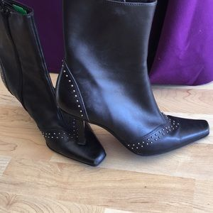 Kelly & Katie Genuine Leather Boots